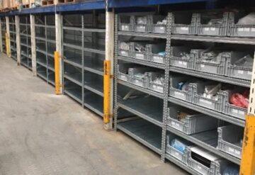 מדפים תעשייתיים לאחסון תאי אחסון