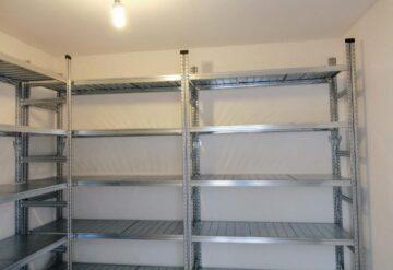 מדפים מודולאריים למחסן ביתי באורנית