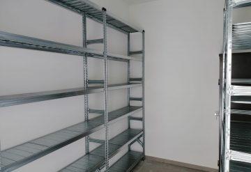 דוגמא עבור מדפים מודולאריים למחסן בבאר שבע