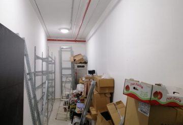 דוגמא עבור מדפים מודולאריים במחסן